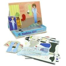 Inakids Educational Kids Magnetic Games Fashion Girl Match Clothes Learning Toy