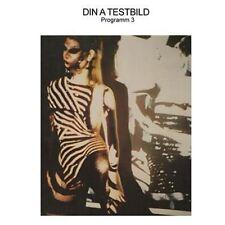 DIN A IMAGE DE TEST-PROGRAMME 3 (1lp Vinyle) mannequin, mnq092, Neuf + neuf dans sa boîte!