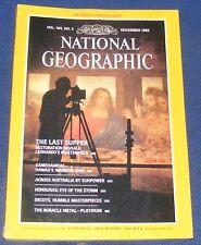 NATIONAL GEOGRAPHIC MAGAZINE NOVEMBER 1983 - KAMEHAMEHA/SOLAR CAR/HONDURAS