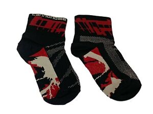 all mountain cycling socks Cannondale S arch support fun unique design reinf toe