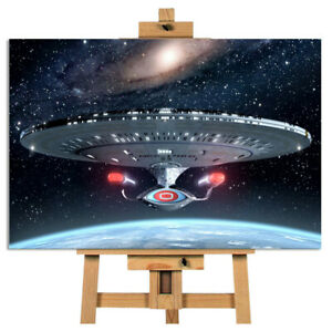 Star Trek Spaceship Canvas Picture Wall Art