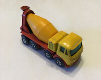 Vtg Matchbox Superfast Transitional #21 Foden Concrete Truck Lesney