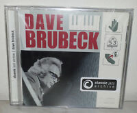 2 CD DAVE BRUBECK - CLASSIC JAZZ ARCHIVE - NUOVO NEW