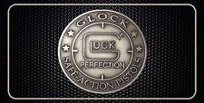 Glock Lock Protection Gun Pistol License Plate Man Cave