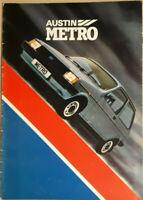 Austin Metro - 1.0 Base, 1.0 L, 1.0 HLE, 1.3 HLS, & 1.3 S Brochure