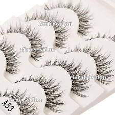 Thick Handmade 5pairs Makeup False Eyelashes Eye Lashes Extension Set Cosmetic