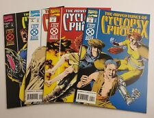 Adventures of Cyclops and Phoenix Complete Mini Series Set #1-4  VF+ Marvel 1994