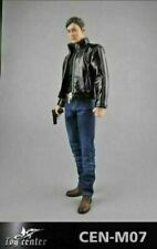 "Toy Center 1/6 Leather Jacket Jeans Clothes Set CEN-M07 Fit 12"" Male Figure"