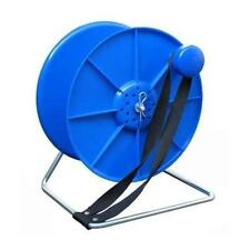 BLUE Cable REEL STAND SPOOL - LOCK AND BREAK ELECTRIC FENCE FENCING WIRE TAPE