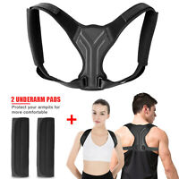 Upgraded Men Women Kids Adjustable Posture Corrector Back Shoulder Support Brace