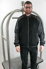 Edwin Teide Souvenir Bomber Jacket Coat - Black / Grey Full Zip - Extra Large XL