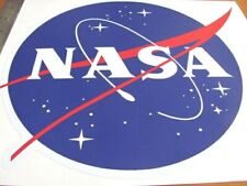 LARGE   NASA     NASA   MEATBALL DECAL STICKER 10 INCH