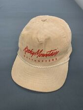 Vintage Rocky Mountain Helicopters Adjustable Hat One Size Fits All