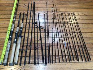 Large Lot Of St.Croix Travel rod parts Premier Triumph