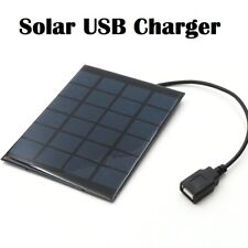 Solar Panel Charger 6V 5V Polycrystalline DIY Solar Charge Battery USB Output DC