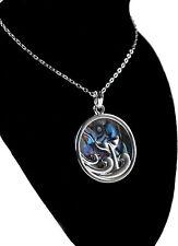 Tide Jewellery Inlaid Paua Shell Dolphin Fluke Necklace Boxed
