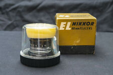 Nikon EL-Nikkor 80mm f/5.6 lens, one of the best lens for UV photography - NEW!