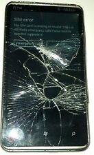 HTC HD 7 - 8GB - Black (T-Mobile) Smartphone - Bad Digitizer -  Cracked Glass