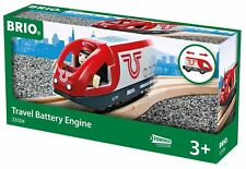 BRIO Travel Battery Powered Wooden Train Engine Thomas compatible NEW 33504