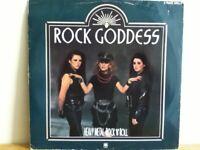 """ROCK   GODDESS         12""""   SINGLE,      HEAVY  METAL   ROCK  N  ROLL"""