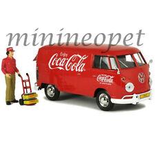 MCC 424062 COCA COLA COKE 1963 VOLKSWAGEN TYPE 2 T1 CARGO VAN with FIGURE 1/24 R