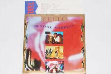 "YELLO -Blazing Saddles / I Love You- 7"" 45 mit Product Facts Promo-Flyer"