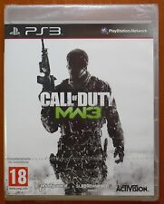 Call of Duty Modern Warfare 3, Infinity Ward, PlayStation PS3, Pal-España, NUEVO