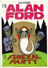 fumetto ALAN FORD N.101 Editoriale Corno