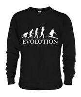 Discesa Sci Evoluzione Umana Unisex Maglione Uomo Donna Idea Regalo Donna Sci