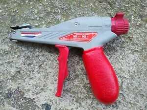 Hellermann Tyton Mark 9 Adj. Tension & Cut-Off Tool Zip tie Cable Tie Gun