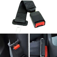36cm/14.17 Black Car Auto Seat Seatbelt Safety Belt Extender Extension Buckle