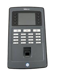 Safescan TA 8035 Zeiterfassungssystem RFID und Fingerprint mit Netzwerk + WLAN