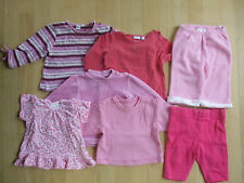 7 Teile Mädchen Bekleidungspaket in Gr. 62-80