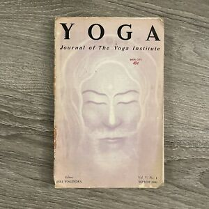 Yoga Journal of Yoga Institute 4 Issue Lot Yogendra 1950 RARE!