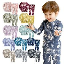 VAENAIT BABY 12M-12 Toddler Kids Boys Girls 100% Cotton Sleepwear set 'PRISM'