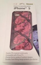 Apple iPhone 5 Pink Graphic Camouflage Flexable Cover NEW
