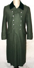 WWII GERMAN WH M36 FIELD GREY WOOL GREATCOAT COAT L -31736