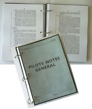 PILOT'S NOTES GENERAL AP 2095: ESSENTIAL RAF FLYING INFORMATION - 330 PAGES