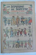 LA SEMAINE DE SUZETTE  5ème ANNEE  1909  -  N° 38