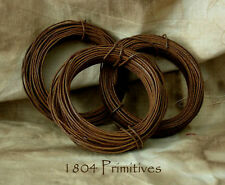 3 rolls ~ 20 gauge RUSTY TIN WIRE ~ Most Popular Size