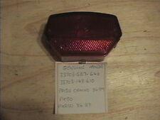 Genuine Honda PA50 Camino Lámpara de cola trasero PX50 PXR50 Lente 33703-GB7-640