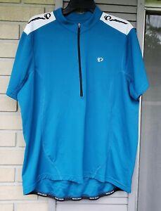 Pearl Izumi 100 Select Blue Cycling Jersey Shirt Size XXL