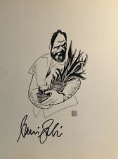 Harris Yulin Signed Al Hirschfeld Print - A LESSON FROM ALOES - Off Broadway