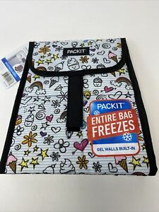 1 Ct PackIt Freezable Lunch Sack Built In Cooling Chills Food & Drinks For Hours
