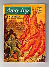 AMAZING STORIES – September 1962 (Edmond Hamilton, Keith Laumer & Ben Bova)