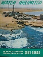 WATER UNLIMITED SALINE WATER CONVERSION CORPORATION PROJECTS IN SAUDI ARABIA