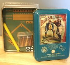 NEW 2004 Vintage Game Series Home Baseball Game NY Historical Society FREE SHIP