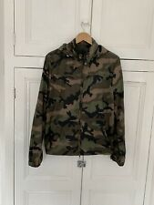 Authentic Valentino Camouflage Windbreaker Jacket Size 46 Small