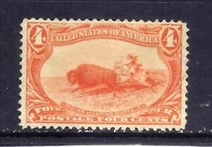US Stamps - #287 - MLH - 4 cent Trans-Mississippi Expo Issue - CV $110