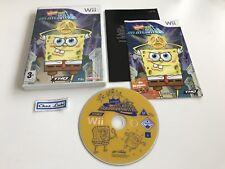 Bob L'Éponge Bulle En Atlantide - Nintendo Wii - PAL FR - Avec Notice